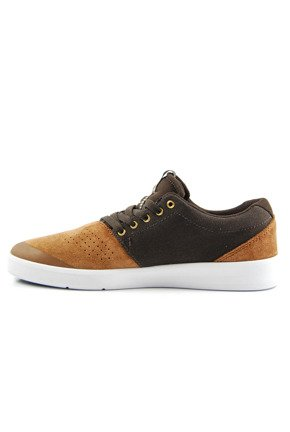 Buty Supra - Shifter Brown/Demitasse-White