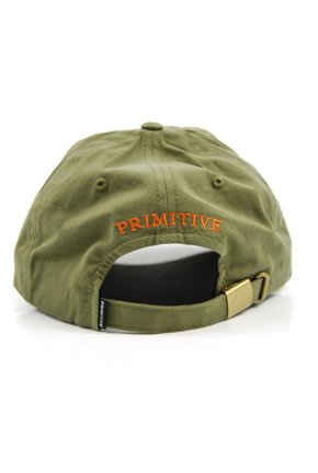 Czapka z daszkiem Primitive  - Mini Classic P DaD Hat Green