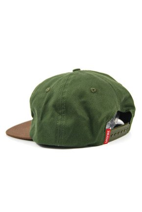 Czapka z daszkiem Spitfire - Big Circle Patch Snapback Army/Brown