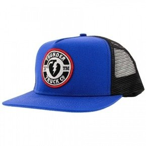 Czapka z daszkiem Thunder - Mainline Trucker  Royal Blue/Black