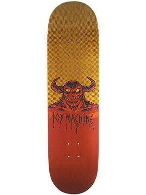 Deck Toy Machine - Hell Monster Yellow/Red