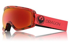 Gogle Dragon - D3 Mill Lumalens Red Ion + Lumalens Rose Lens Free