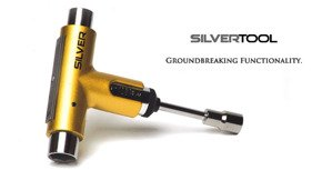 Klucz do deskorolki Silver - Premium Tool - Team Gold
