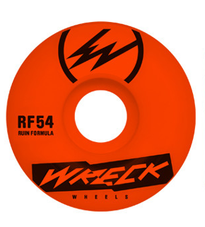 Kółka Wreck - Orginal Cut RF Neon Orange