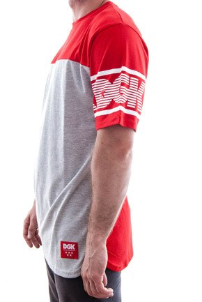 Koszulka DGK - Backspin Custom S/S Knit Red