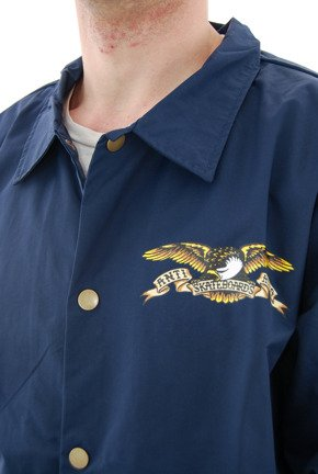 Kurtka Antihero -  Stock Eagle Patch Waterproof Coaches Jacket Navy