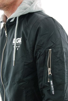 Kurtka DGK - Attack Custom Jacket Black