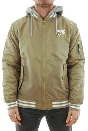 Kurtka DGK - Attack Custom Jacket Khaki