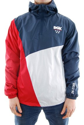 Kurtka DGK - Lenox Windbreaker Jacket Navy