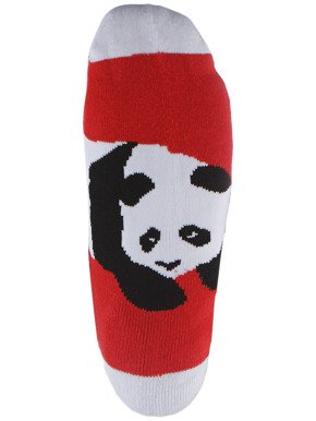 Skarpety Enjoi - Panda Feet Crew Red