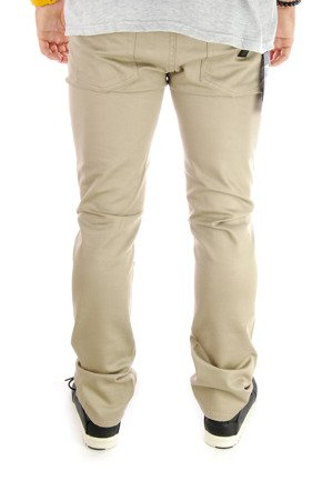 Spodnie Kr3w -  K Slim 5 Pocket  Dark Khaki