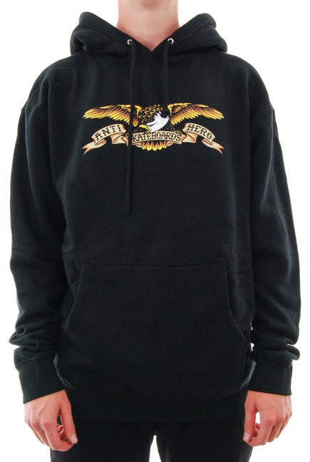 Bluza Antihero - Eagle Pullover Hooded Black