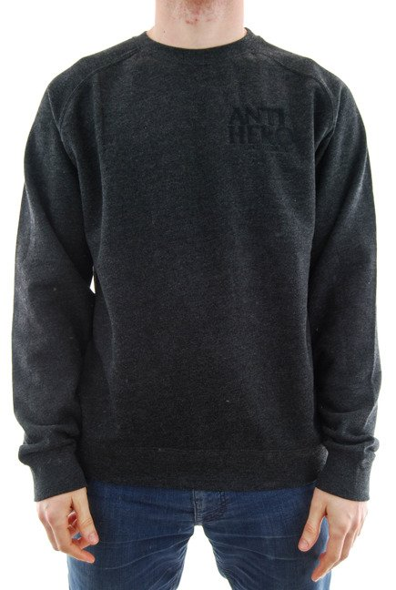 Bluza Antihero - Lil Black Hero Crewneck Dark Grey