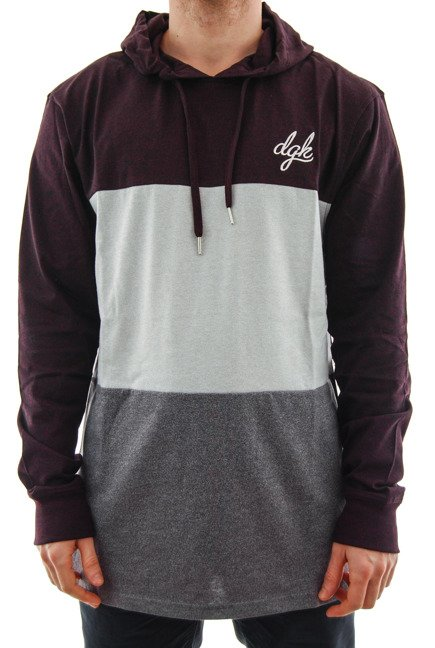 Bluza DGK - Block Custom burgundy