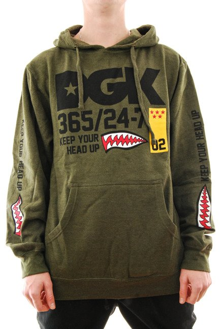 Bluza DGK - Heads Up army