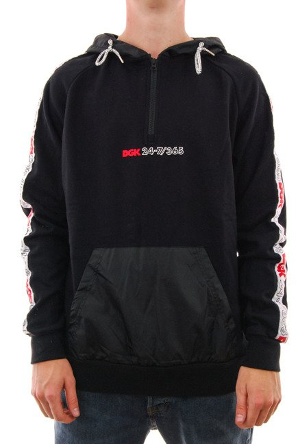 Bluza DGK - Heritage Hooded Fleece Black