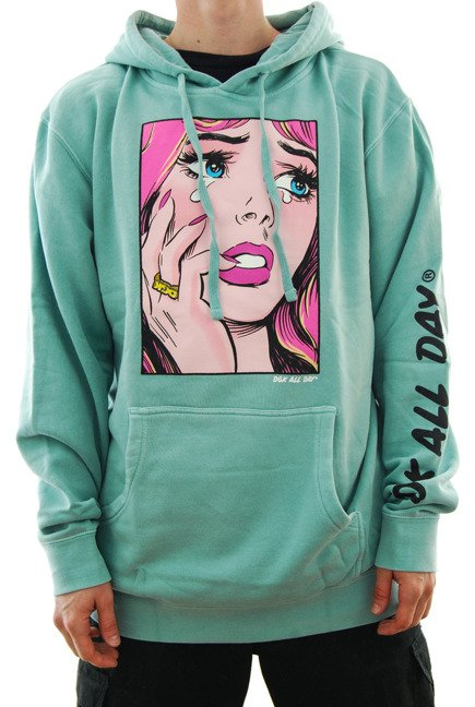 Bluza DGK - Last crush pigment mint