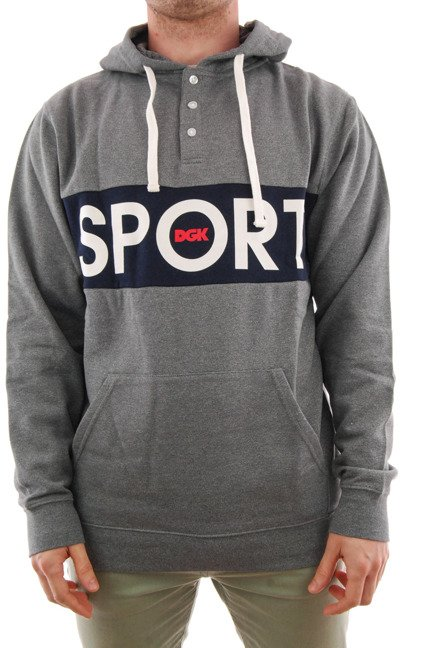 Bluza DGK - Sport Custom Hooded Fleece Sport Heather