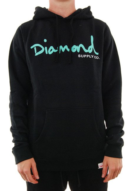 Bluza Diamond Supply Co. - Og Script Hoodie Black