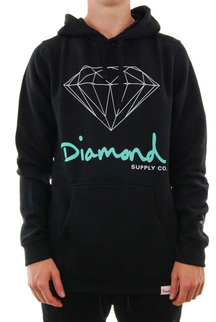 Bluza Diamond Supply Co. - Og Sign Hoodie Black