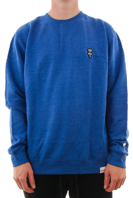 Bluza Diamond Supply Co. - Screwed Up Crewneck Royal