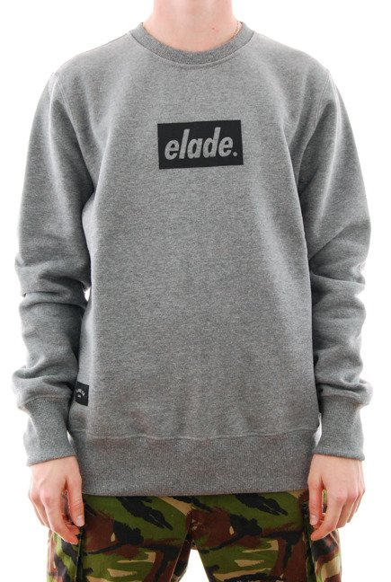 Bluza Elade - Box Logo 3D Grey