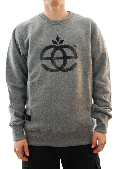 Bluza Elade -  Crewneck Icon grey/black