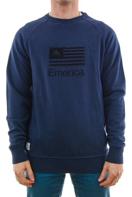 Bluza Emerica - Arrows Crewneck Navy
