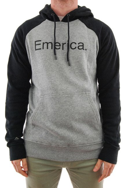Bluza Emerica - Emerica Purity Hood Black/Grey