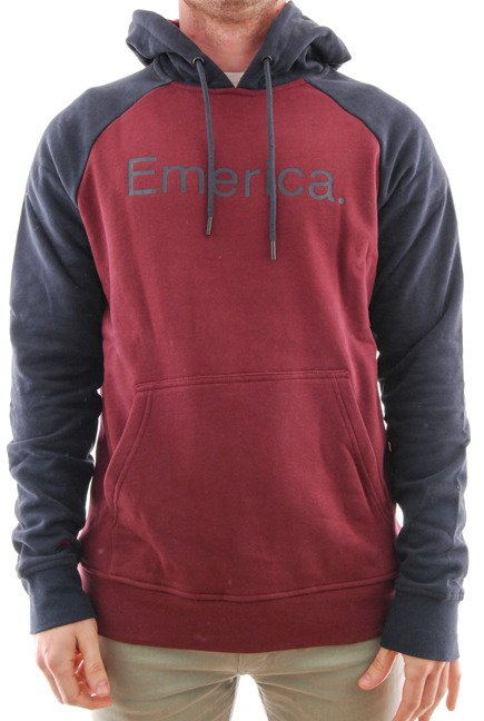 Bluza Emerica - Emerica Purity Hood Oxblood