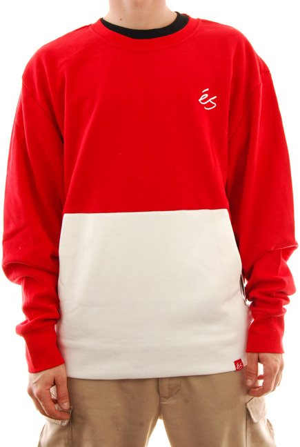 Bluza Es - Cera Tech Crew red/white