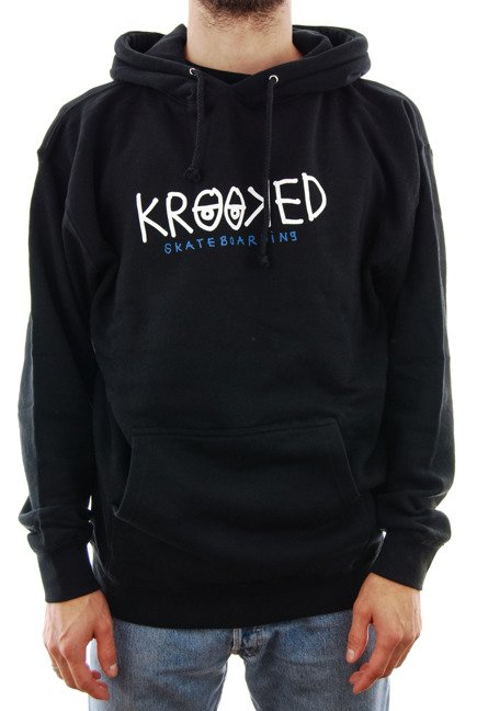 Bluza Krooked - Eys black/white/navy