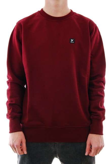 Bluza Nervous - Icon maroon