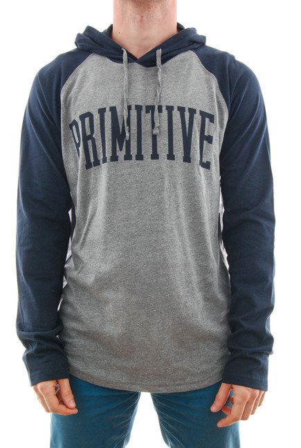 Bluza Primitive - Collegiate Reglan Popover Midnight