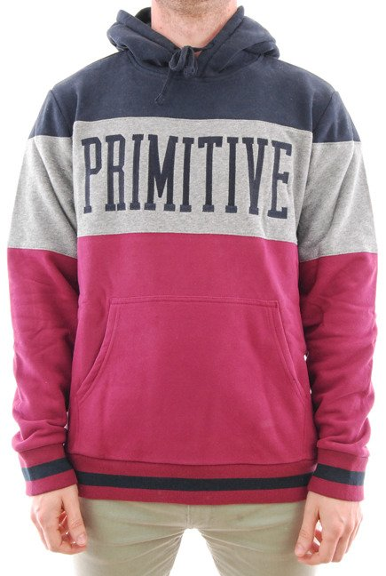 Bluza Primitive - League Pullover Hoodie Brick