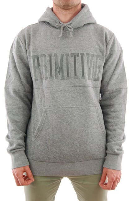 Bluza Primitive - League Pullover Hoodie Grey Heather
