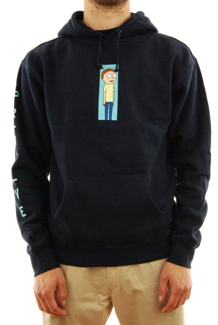 Bluza Primitive - Morty Vortex navy