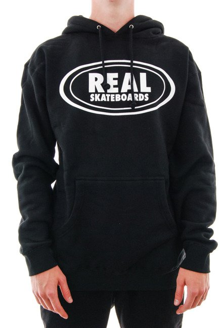 Bluza Real - Deeds outline black/white