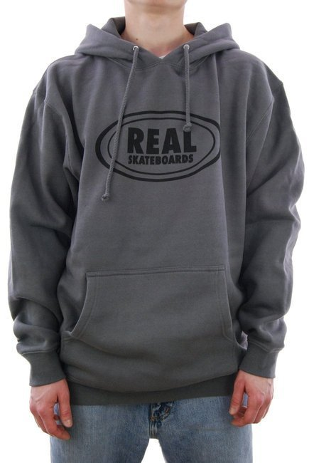 Bluza Real - HD oval charcoal/black