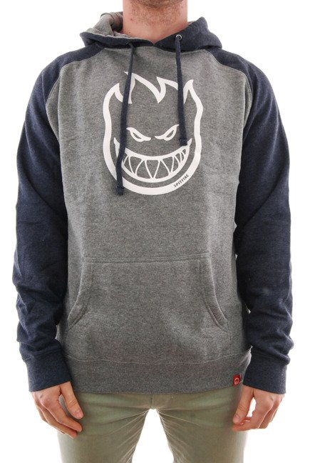 Bluza Spitfire - Bighead  Gunmetal/Navy-Heather/White