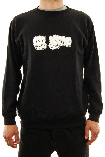Bluza Toy Machine - Fists Crew black