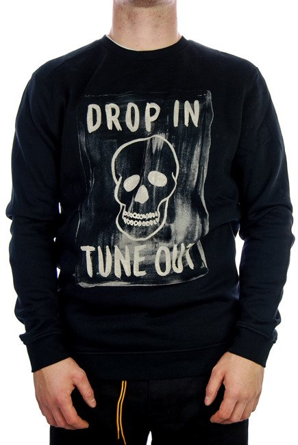 Bluza Volcom - Tune Out Crew BLK