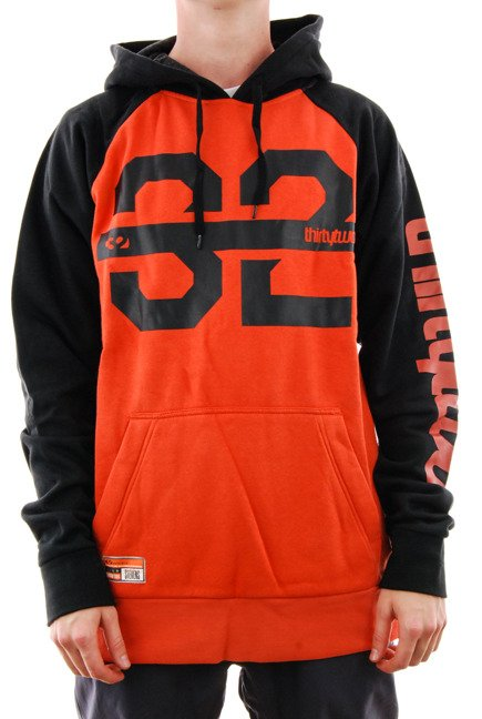 Bluza snowboardowa ThirtyTwo - Marquee orange