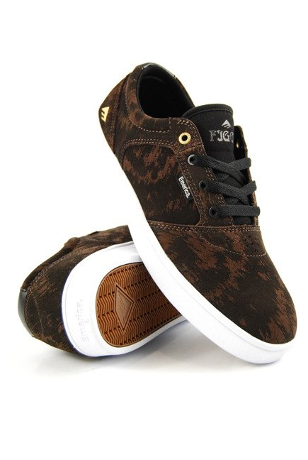 Buty Emerica  - Figgy Dose brown/black/white