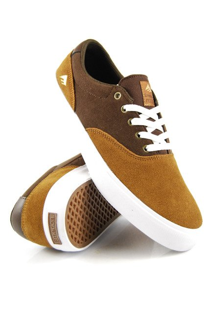 Buty Emerica  - Provost  Slim Vulc Tan/Brown/White