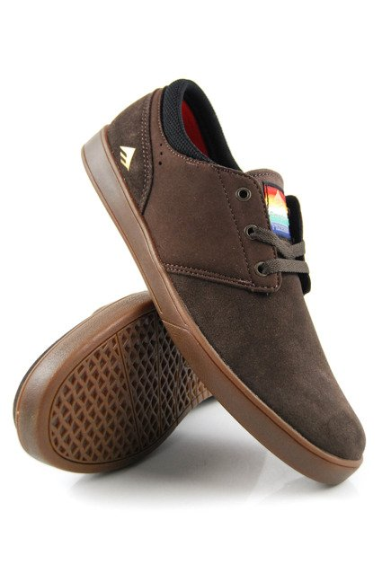 Buty Emerica  - The Figueroa Brown/Gum/Gold