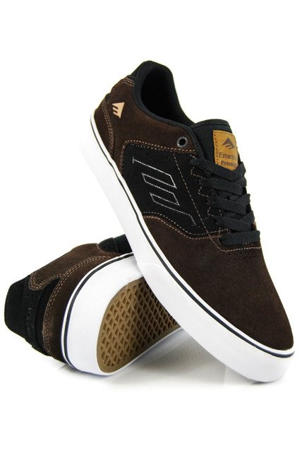 Buty Emerica - The Reynolds Low Vulc Brown/Black