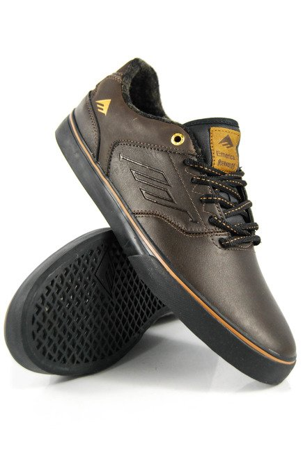 Buty Emerica - The Reynolds Low Vulc Dark Brown