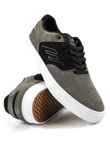 Buty Emerica - The Reynolds Low Vulc Grey/Black/White