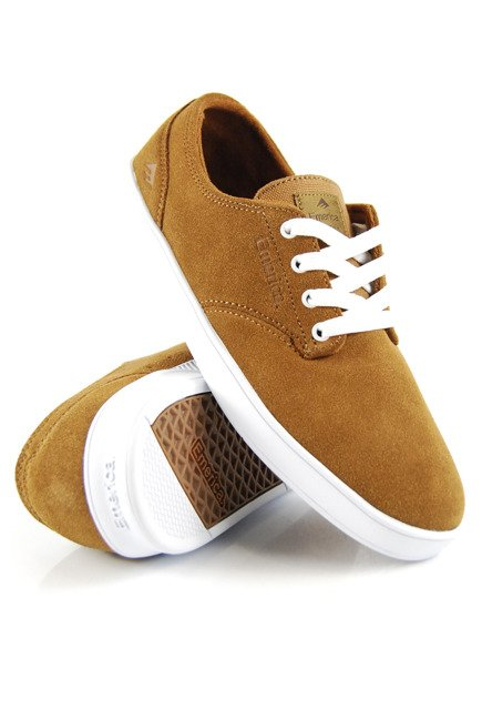 Buty Emerica  - The Romero Laced Brown/White/Gum